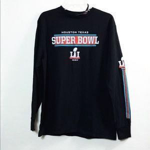 Houston Texas Super Bowl 2017 L/S NWT Large